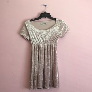 American Apparel mini dress — lavender.